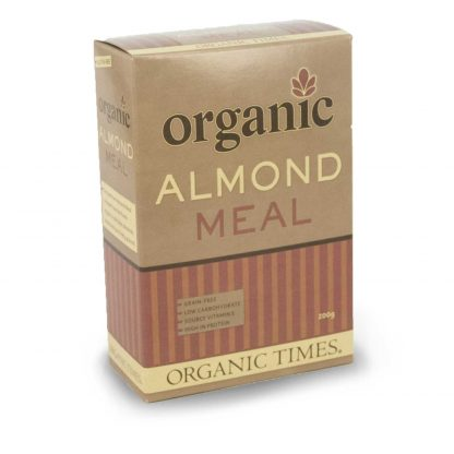 200 gram box of Organic Blanched Almond Meal