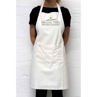 An Organic Times Cotton Apron