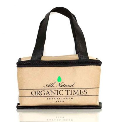 Organic Times Lunch Cooler Bag