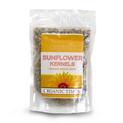 200 gram bag of Organic Times Sunflower Kernels