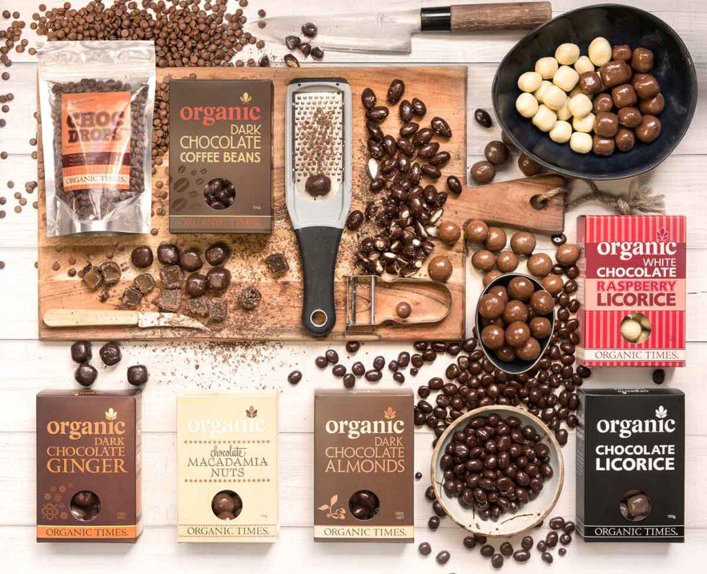 Organic Times Chocolate Range