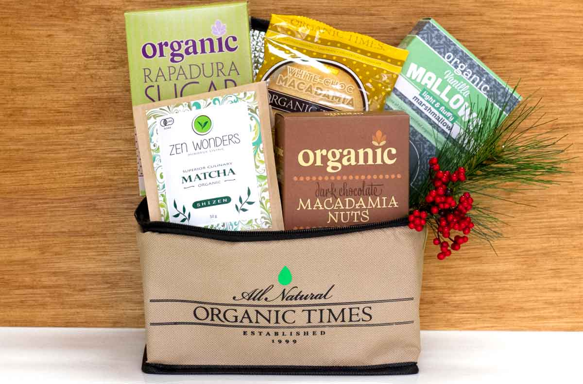 Organic Times products and Zen Wonders Matcha