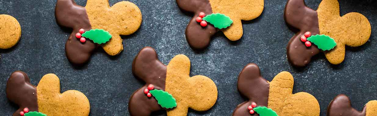 Molasses Gingerbread Men cookies