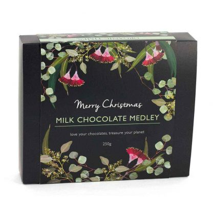 An Organic Times Milk Chocolate Medley Christmas Gift Box