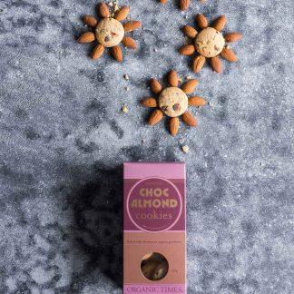 Organic Times Choc Almond Cookies