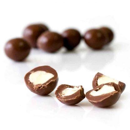 Organic Times Milk Chocolate coated Macadamias