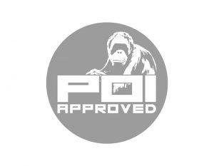 Orangtuan image on POI logo