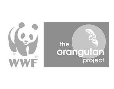 WWF-Australia and The Orangutan Project Logos