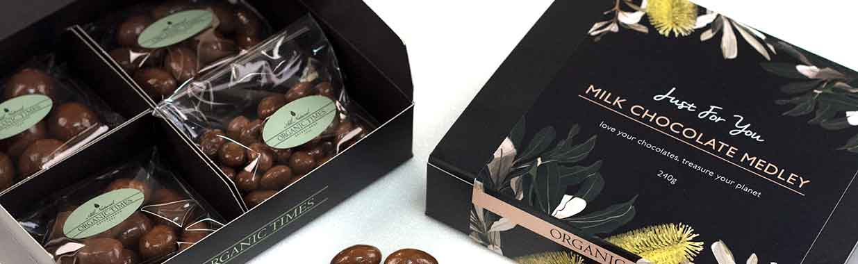 Organic Times Fathers Day Chocolate Gift Boxes