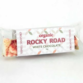 Organic Times Christmas Rocky Road bar