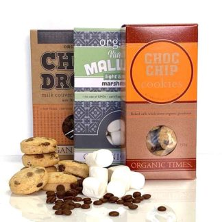 organic times products in a s'mores kit