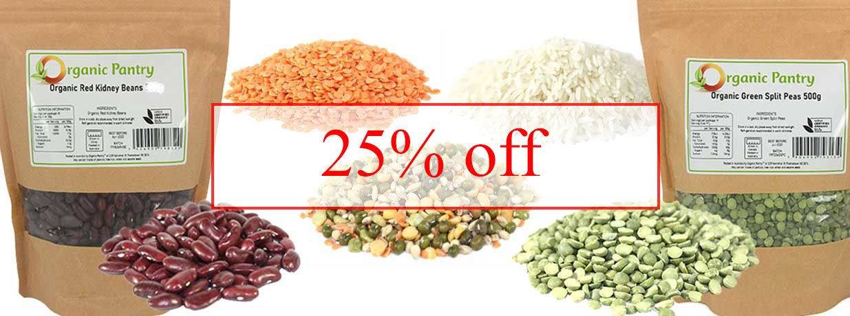 organic pantry rice lentils beans legumes peas