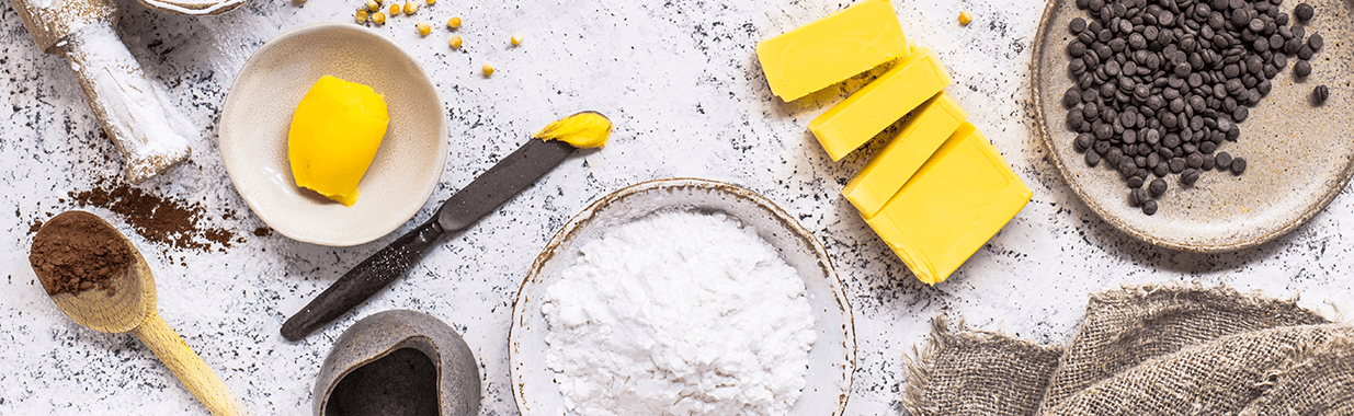 organic pantry ingredients